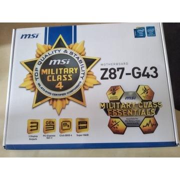 I5 4670k + z87-g43 + 8 gb ram ddr3 + xfx 550W