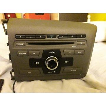 Radio CD/FM oryginalne do Honda Civic 2013-2016