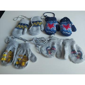 Zestaw rękawiczki dla dziecka