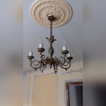 lampa żyrandol kinkiety