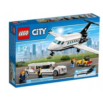 LEGO CITY 60102 - LOTNISKO OBSŁUGA VIP