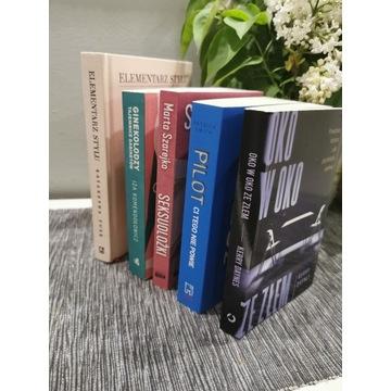 Zestaw książek nowych