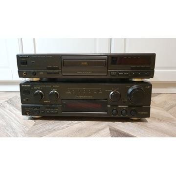 Amplituner TECHNICS SA AX540 + CD + 2 Głośniki 80W