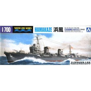 Japoński niszczyciel HAMAKAZE