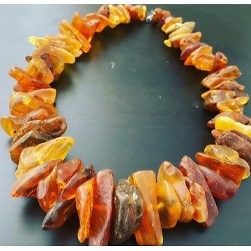 Naszyjnik bursztyn amber