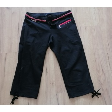 legginsy spodnie dres 3/4 używane noszone fetysz