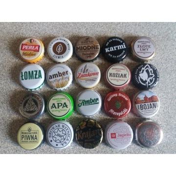 Zestaw kapsli do piwa, rzemieślnicze, inne