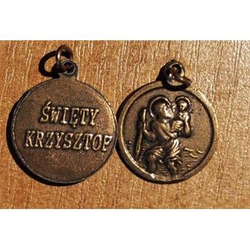 Medalik sw Krzysztof patron kierowcow