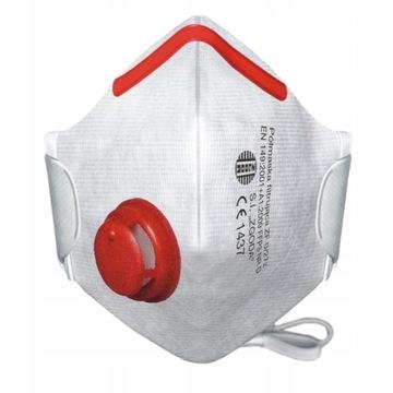 Profesjonalna maska ochronna filtr klasy FFP3 P3