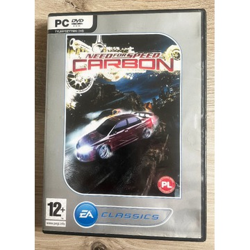 Need For Speed Carbon PC PL CD BOX DVD