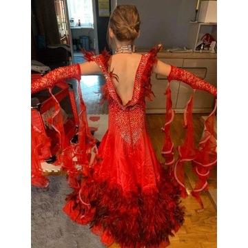 Suknia do tańca towarzyskiego