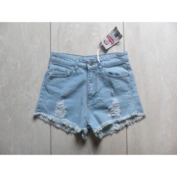 NOWE krótkie spodenki szorty Geroni's Jeans 36,S
