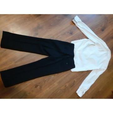 Spodnie garniturowe plus koszula