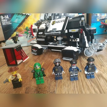 The Lego Movie 70815 police