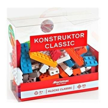 MARIOINEX KONSTRUKTOR CLASSIC 95 SZT KLOCKI WAFLE