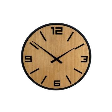Zegar ścienny, dębowy, oryginalny prezent