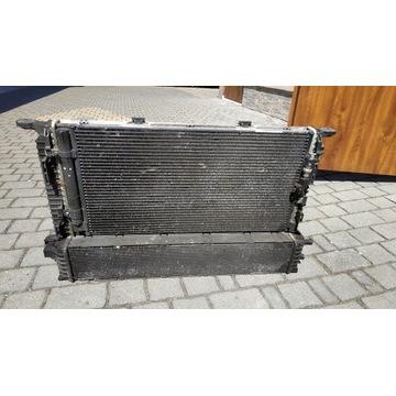 Chłodnica AUDI A5 8T0260401C + Wentylatory