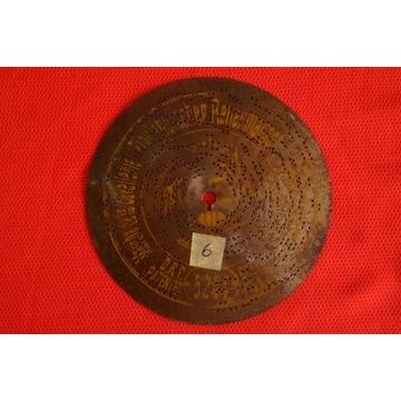 Płyta do polifonu 14,5cm Nr.6