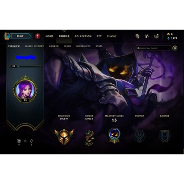 Konto League Of Legends EUNE Gold IV (80%winrate)