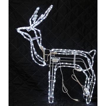 Renifer LED biały zimny