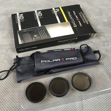 Zestaw filtrów PolarPro Phantom 3