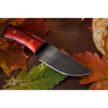 Ręcznie wykonany nóż bushcraftowy (survivalowy)