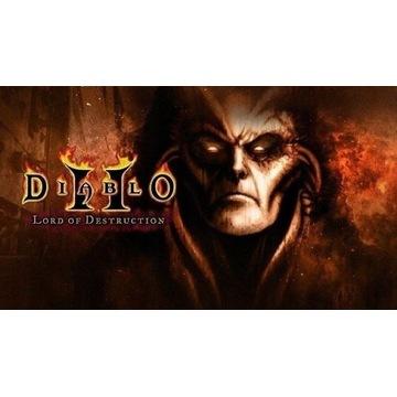 Diablo 2 II + Lord of Destruction cd keys klucz PC