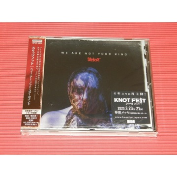SLIPKNOT We Are Not Your Kind JAPAN CD Bonus Track