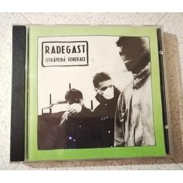 Radegast- Otrávená Generace CD 1992 Czech, UNIKAT!