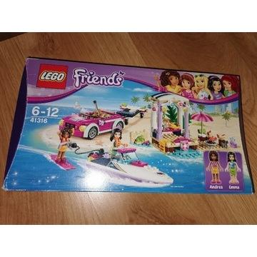 Lego Friends Transporter motorówek