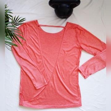 Sportowa bluzka z rozcięciem z tyłu Active Fit 38