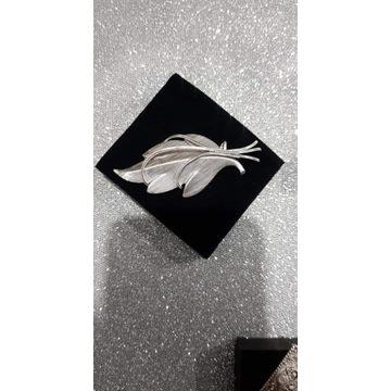 Broszka srebro rodowane 925 vintage