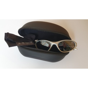 Okulary Oakley Minute, Silver/Black Iridium