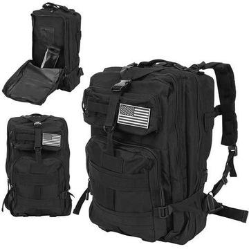 Plecak militarny XL czarny