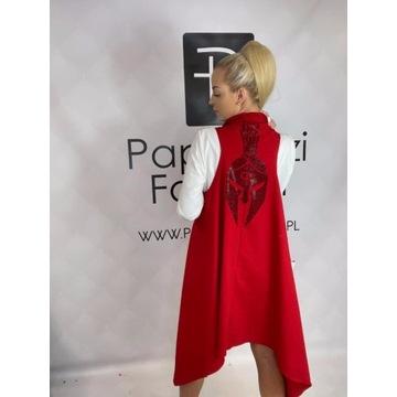 Paparazzi fashion czerwona kamizelka