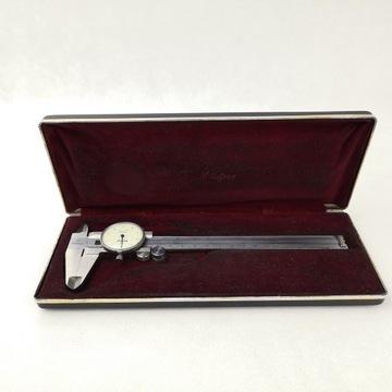 Mitutoyo Japan stara suwmiarka zegarowa 505-633