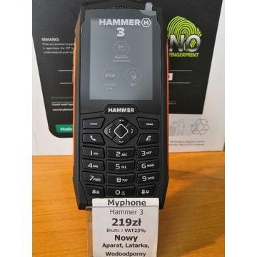 Myphone Hammer 3 Nowy +gratis