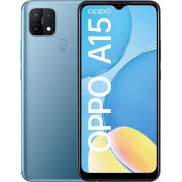 Smartfon Oppo A15 2/32 GB Niebieski (Nowy)