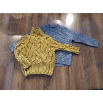Dwa swetry w roz M, Zara, H&M