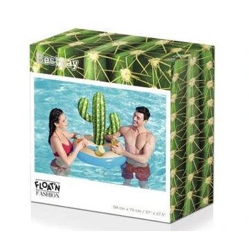Materac kaktus z miejscem na napoje!