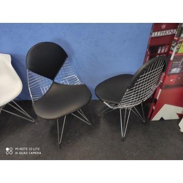 Krzesło Intel II chrom/czarny