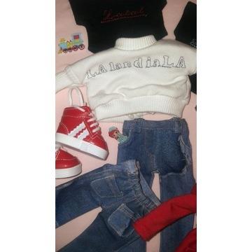 Ubranko dla lalki Paola Reina bluza dresowa