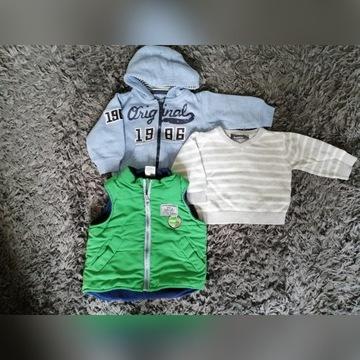 Zestaw ubrań chłopiec 56-62