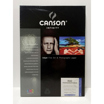 Canson Infinity Rag Photographique 210g - A3, 25 a