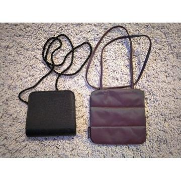 Dwie małe torebki damskie Avon Rimmel