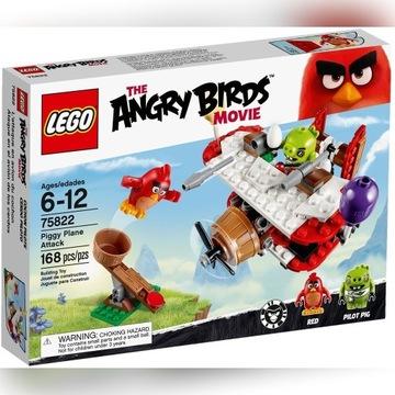 Lego Angry Birds Atak Samolotem Świnek 75822