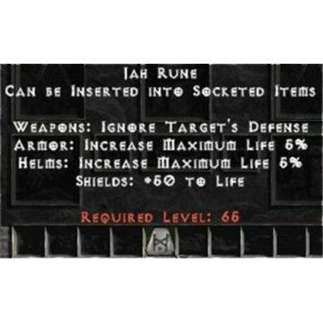 Runa JAH - Diablo 2 LOD NOWY LADDER