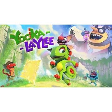 Yooka-Laylee PC klucz steam