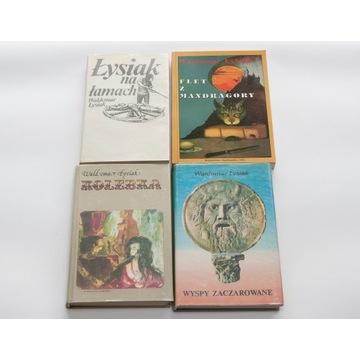 Waldemar Łysiak - zestaw 4 książek