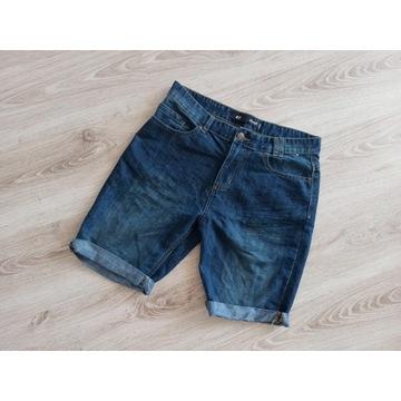 spodenki jeans męskie W32 Denim Co licytacja